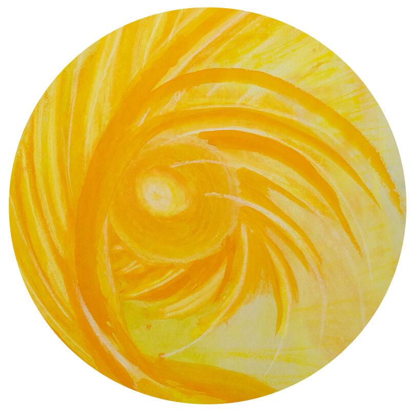 Gelbe Kreise