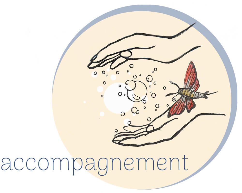 Dessin logo accompagnement