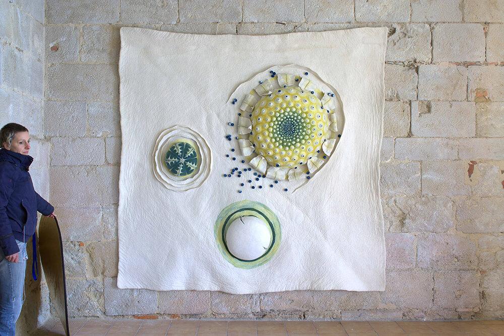 Oeuvre cycle réalisée par Maria Friese